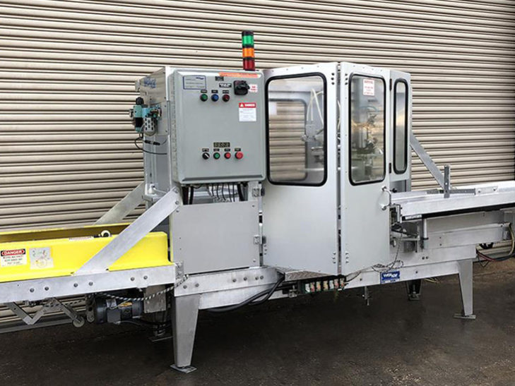 Used Wexxar Automatic Case Erector with Bottom Tape Sealer