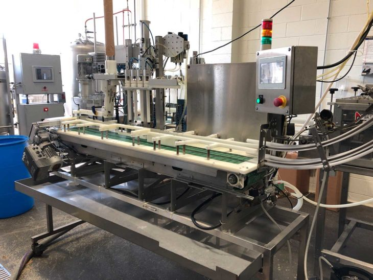 Used Wild Goose 40CPM Automated Canning Line