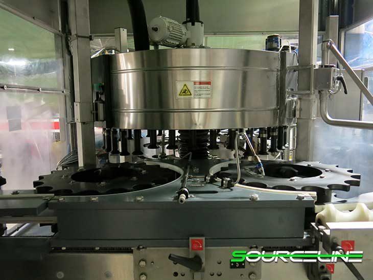 Used Complete 60000 BPH PET Water Bottling Line full