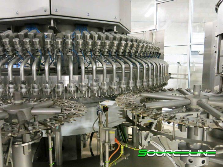 Used Complete 60000 BPH PET Water Bottling Line