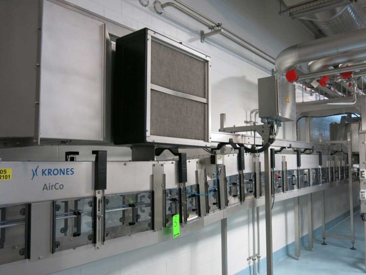 Used Krones PET Aseptic Filling Line full