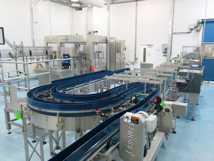 Used Krones PET Aseptic Filling Line