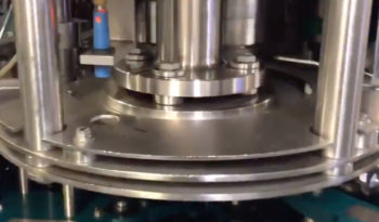 Used Crown Uniblend 45 Valve Filler with 6 Head Capper full