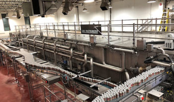 Used Krones Sander Hansen Double Deck Pasteurizer Tunnel