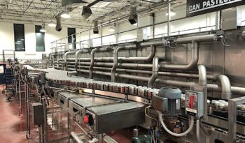 Used High Speed Beverage Can Filling Line full