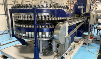 Used Crown 60 Valve Can Filler with Angelus 120L Seamer
