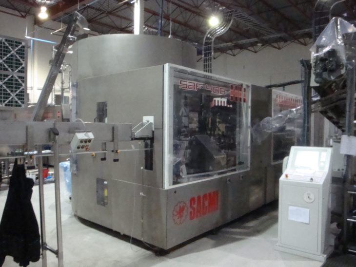 Used Sacmi SBF 408 Blow Fill Cap System full
