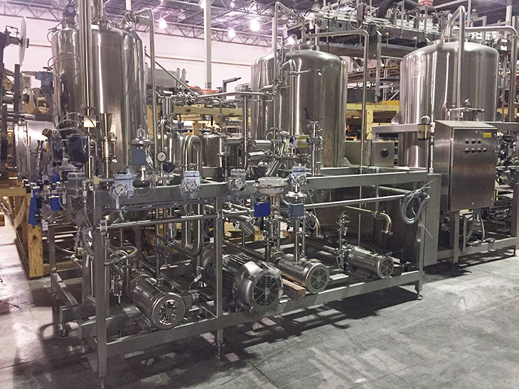 Used MicroBlend Blending System