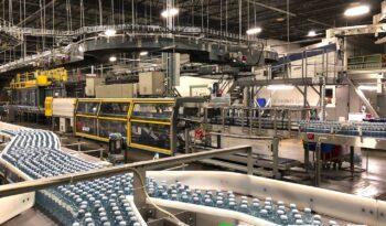 Used Complete 700BPM Water Bottling Line