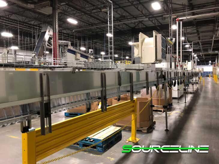 Used Complete 700BPM Water Bottling Line full