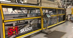 Used SMI SK450T Automatic Tray Former Packer Shrink Wrapper