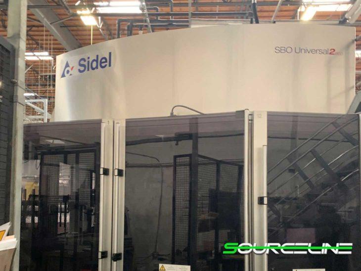 Used 2012 SIDEL SBO 18 Universal Reheat Stretch Blow Molder
