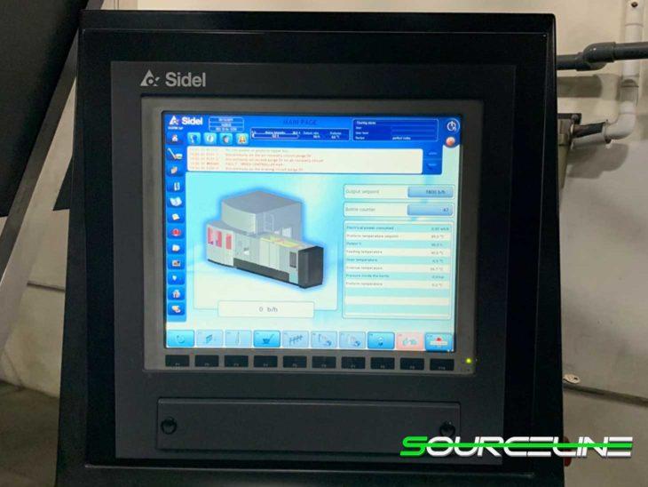 Used 2012 SIDEL SBO 18 Universal Reheat Stretch Blow Molder full
