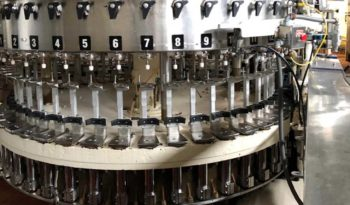 Used Bevcorp Crown Uniblend 45 Bottle Filler with Alcoa 6 Head Capper