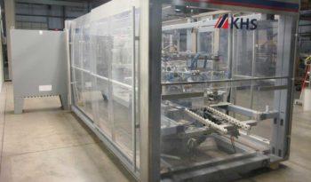 Used KHS Kisters Innopack WP30 Wraparound Tray Packer full