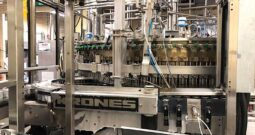 Used Krones 100 Valve Can Filler with Angelus 120L Seamer