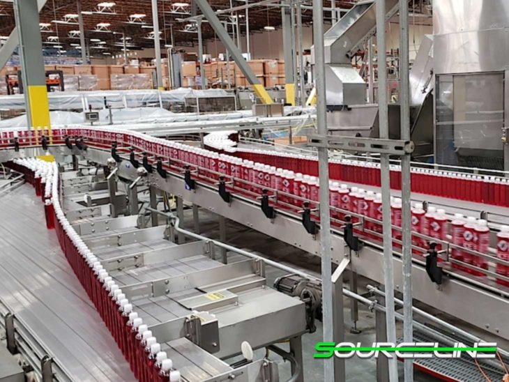 Used Sidel 36000BPH Carbonated Beverage Bottling Line full