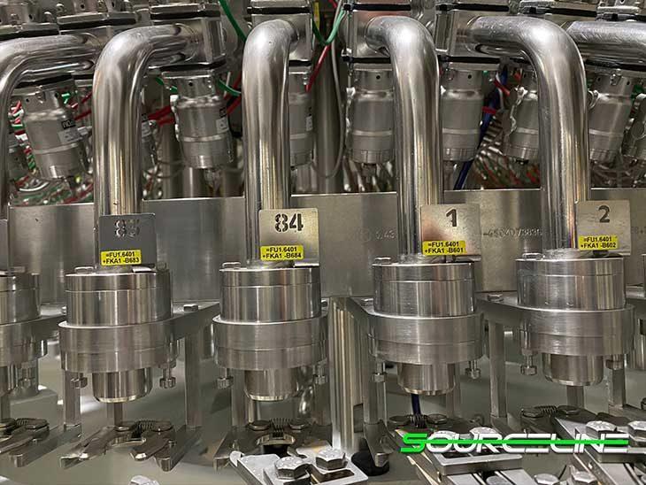 2013 Krones 84 Valve Modulfill Water Filler full