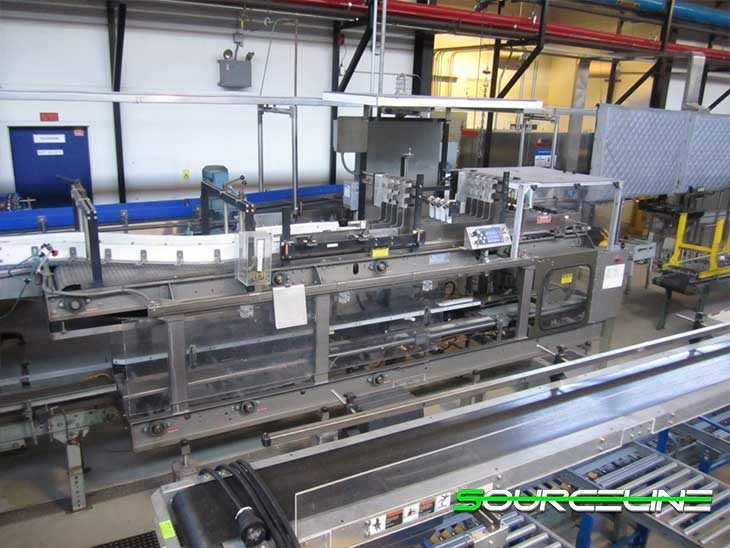 Used CFT (SBC) Glass Bottle Filling Line for Beer and CSD full