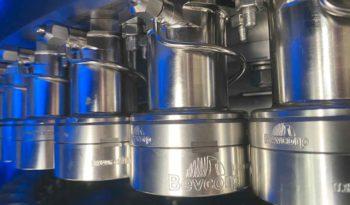 Rebuilt Crown Bevcorp 72 Valve Filler with Angelus Seamer full