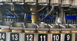 Rebuilt Crown Bevcorp 72 Valve Filler with Angelus Seamer