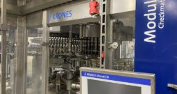 Used Complete 900 BPM Krones Water Bottling Line