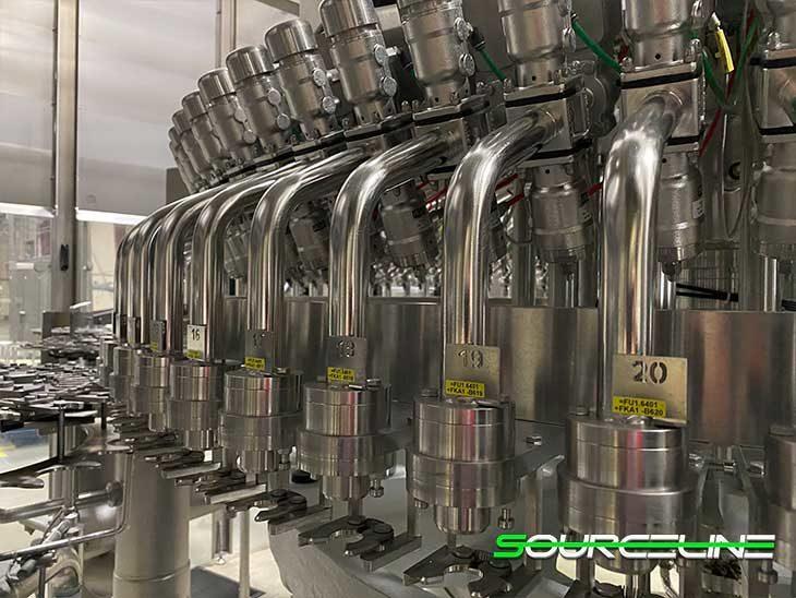 Used Complete 900 BPM Krones Water Bottling Line full