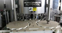 Used Krones Autocol 18 Head Pressure Sensitive Labeler