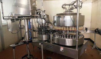 36 Valve PET Bottling Line full