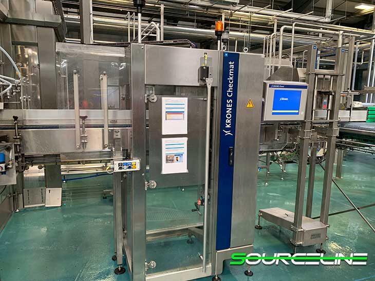 Complete Krones 46,000BPH Glass Bottling Line full