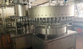 Complete 48 Valve PET Water Bottling Line full