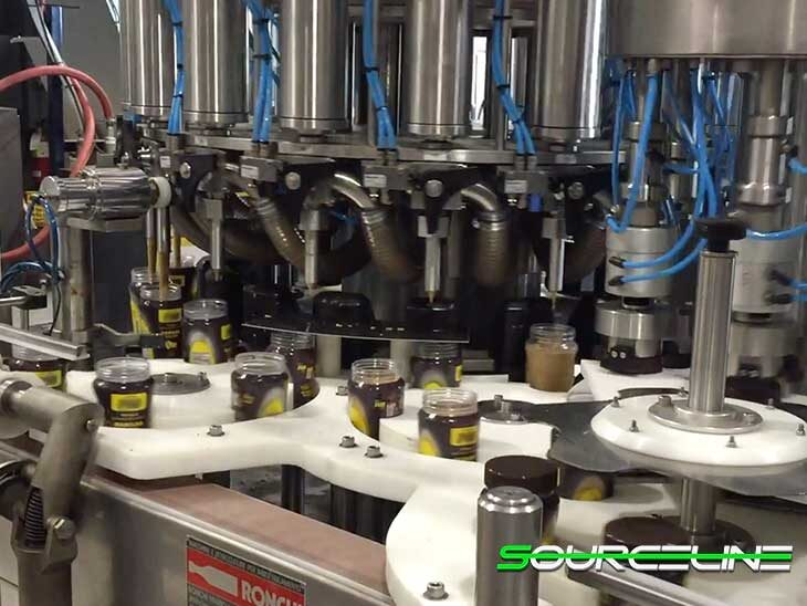 Used Ronchi 18 Valve Piston Filler with 6 Head Capper