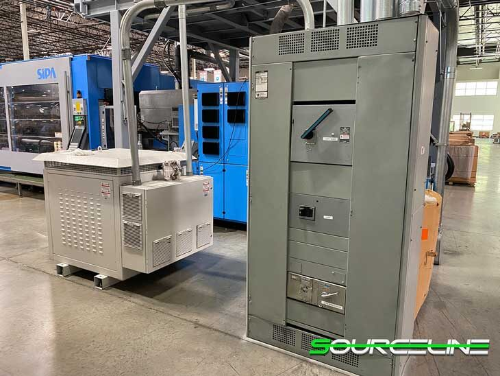 Used 2017 SIPA XFORM 350 Ton Preform Injection Molder full
