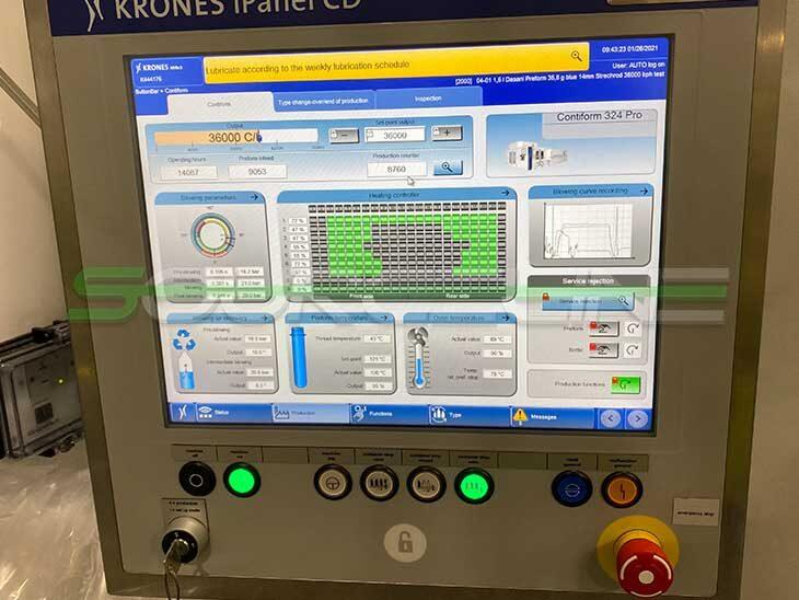 2017 Krones Contiform 324 PRO Blow Molder full