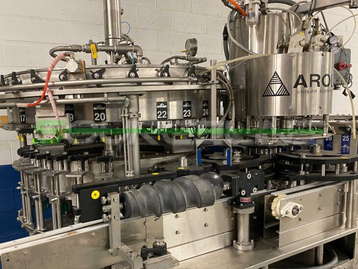 Bevcorp 28 Valve Filler with 6 Head Crowner