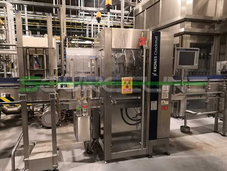 2015 Krones PET CSD Bottling Line full