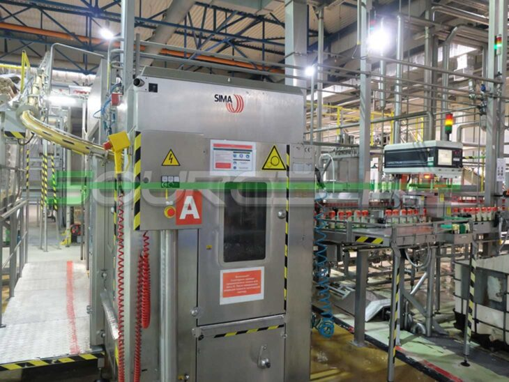 Complete KHS 300CPM Can Filling Line