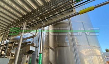 Used 20000 Gallon Stainless Steel Tank full