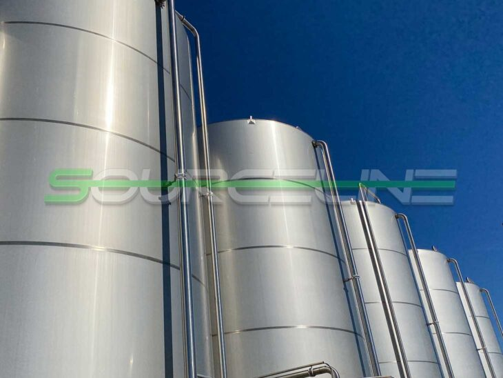 Used 20000 Gallon Stainless Steel Tank Farm