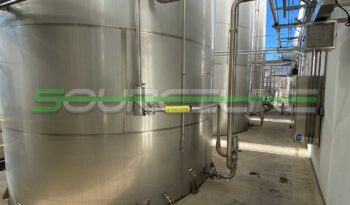 Used 20000 Gallon Stainless Steel Tank Farm full