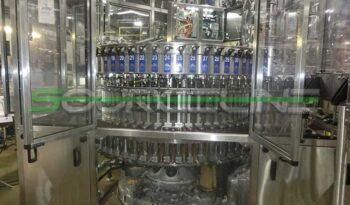 Used CROWN 60 Valve Bottle Filler with CSI 12 Head Capper full