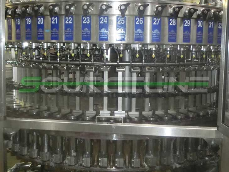 Used CROWN 60 Valve Bottle Filler with CSI 12 Head Capper (4)
