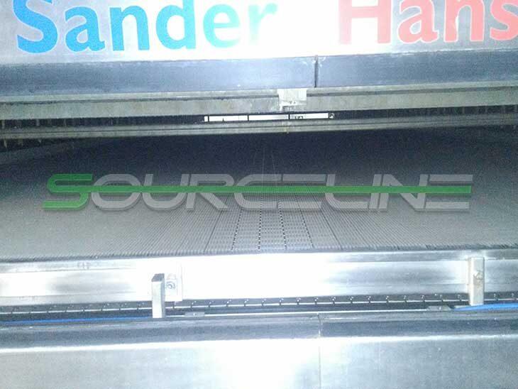 Double Deck Krones Sander Hansen Pasteurizer Tunnel full