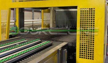 Used SMI SK802T Tray Former Packer Shrink Wrap Bundler full