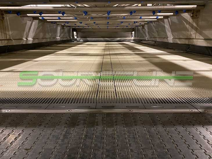 2015 Krones LinaTherm Warming Tunnel full