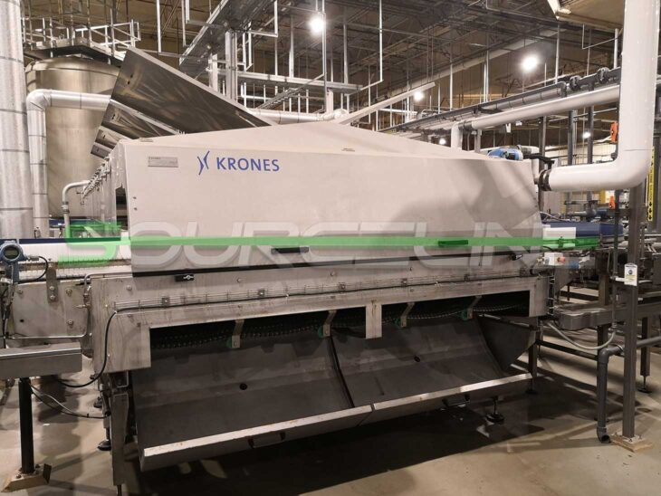 2015 Krones LinaTherm Warming Tunnel