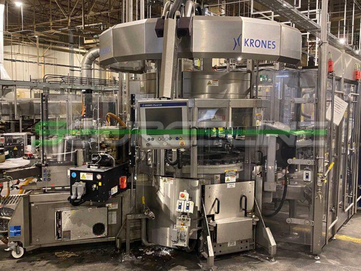 2015Krones Solomodul Modular Labeler