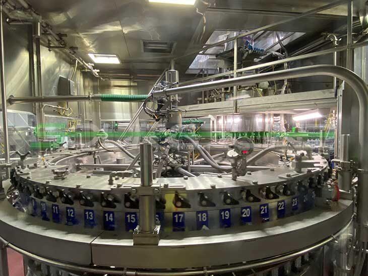 Complete Aluminum Bottle Filling Line full