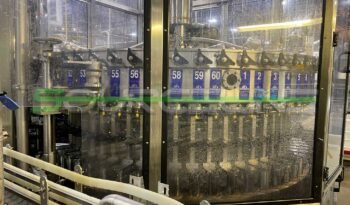 Used Bevcorp 60 Valve Filler with CSI 12 Head Capper full