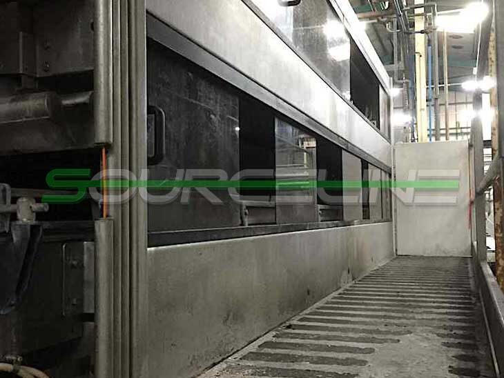 Used Krones Sander Hansen 10 Zone Pasteurizer Tunnel full